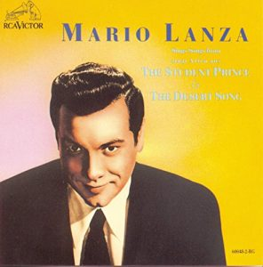 Mario Lanza Sings Songs From The Student Prince & The Desert Song / Romberg