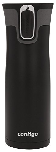 Contigo AUTOSEAL West Loop Stainless Steel Travel Mug , 20 oz., Matte Black