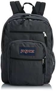 JanSport Big Student Classics Series Backpack – Forge Grey