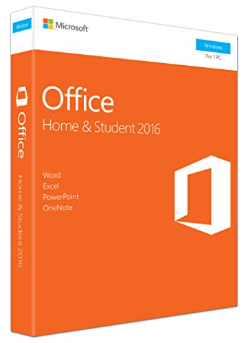 Microsoft Office Home and Student 2016 for PC (Key card)