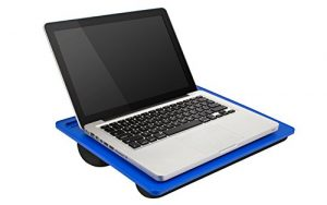 LapGear Student Lap Desk,  – Blue (Fits up to  15.6″ Laptop)