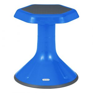 Learniture  Active Learning Stool, 15″ H, Blue, LNT-3046-15BL