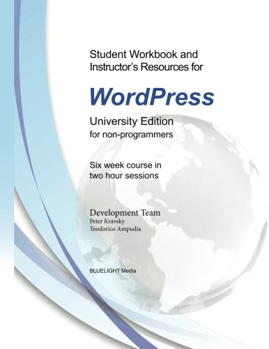 Student Workbook and Instructor's Resources for WordPress