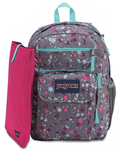 JanSport Digital Student Laptop Backpack (Spring Meadow)