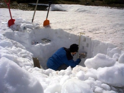 In Silver Lake – Colorado in 1921, a continuous snow fall in 24 hours created 76 inches of snow.