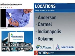 What you need to know about hospitals nationwide promoting free hernia screenings