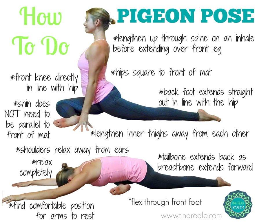 pigeon yoga pose