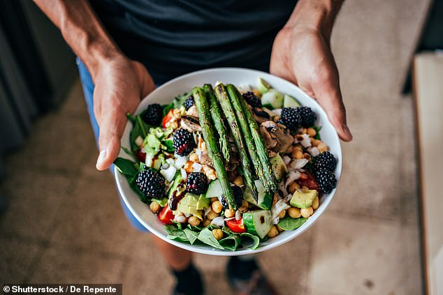 Doctors have hailed 'food as medicine' after reporting a Crohn's disease patient reversed his painful condition with a vegan diet. Stock photo