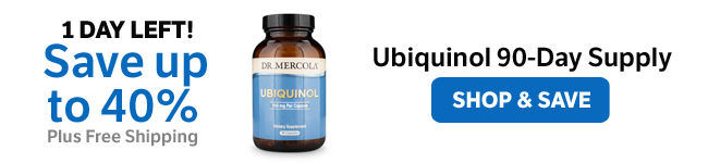 Save up to 40% on a Select Ubiquinol 90-Day Supply​