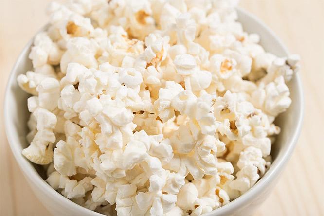 snack - popcorn