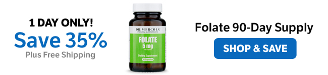 Save 35% on Folate 90-Day Supply