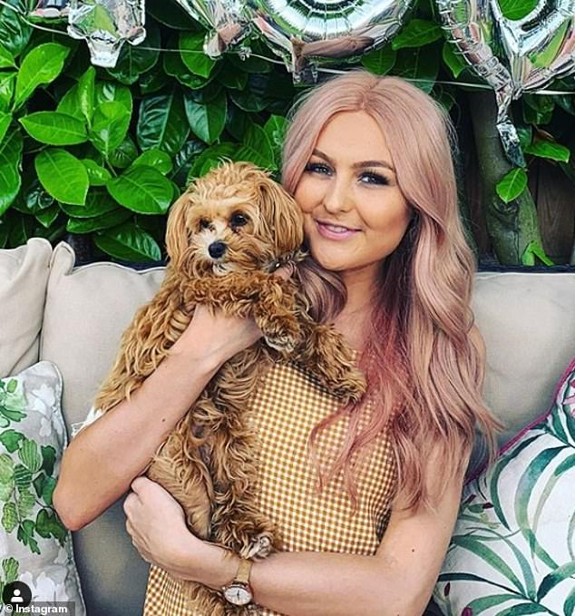The 23 year old has been fighting a rare and aggressive cancer called Alveolar Rhabdomyosarcoma for two years, but has now exhausted all options on the NHS (pictured in July, wearing a wig)