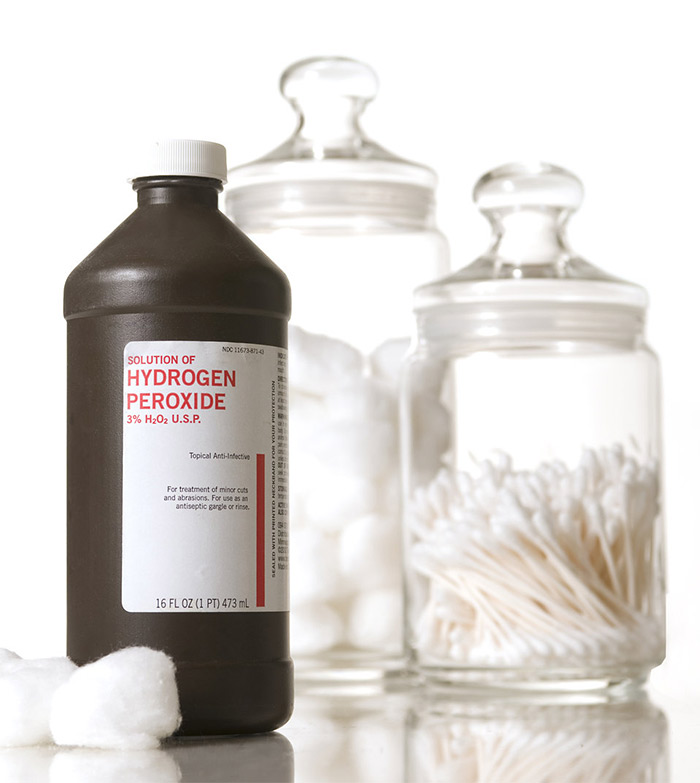 hydrogen peroxide solution