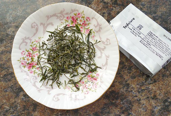 Organic Tian Mu Yun Wu green tea