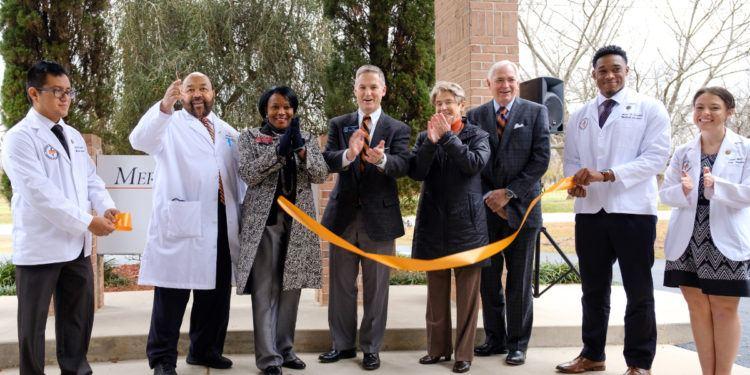 Mercer Medicine Peach County Ribbon Cutting