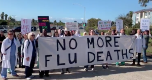 Activists turned away after showing up to Border Patrol detention facility with flu vaccines