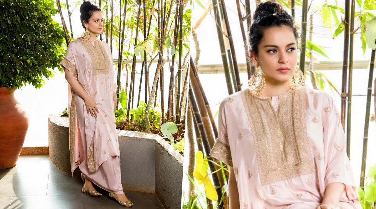 Yo or Hell No? Kangana Ranaut in Anamika Khanna for Panga Promotions