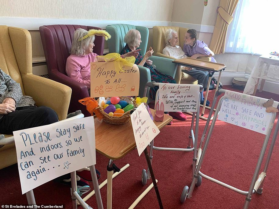 St Brelades and The Cumberland care home, in Herne Bay, Kent, looks after women suffering from dementia