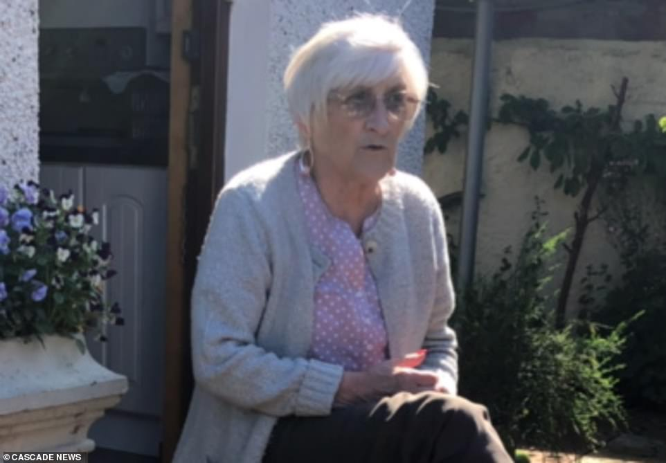 Mark Gordon fears his mother Susan (above), a 76-year-old terminally-ill cancer patient, is too weak to fight off coronavirus after contracting the infection while at a Tayside care home. He claims staff did not use PPE when dealing with patients