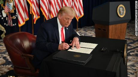 What Trump's Covid-19 executive actions actually mean