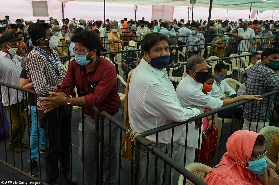 Medics have accused Indian ministers of 'complacency' for donating Covid vaccines to neighbouring countries while not ramping up production to ensure domestic demand is met