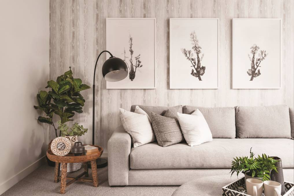 Choose an oversized floor lamp to add height to your living room or opt for one bedside table lamp and a floor lamp on the opposite side of the bed.