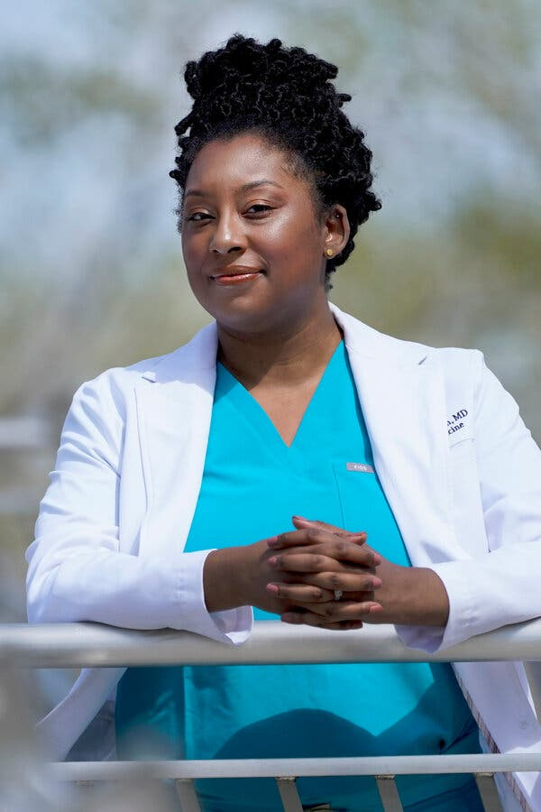 Dr. Brittani James, who helped start a petition calling on JAMA to restructure and hold a series of town hall meetings to discuss racism.