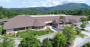 Highlands-Cashiers Hospital aerial view
